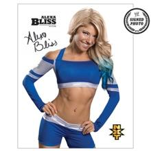 Alexa Bliss Signed NXT Photo