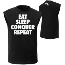 "Brock Lesnar ""Eat, Sleep, Conquer, Repeat."" Muscle T-Shirt"