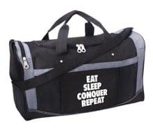 "Brock Lesnar ""Eat, Sleep, Conquer, Repeat"" Gym Bag"
