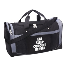"Brock Lesnar ""Eat, Sleep, Conquer, Repeat"" Gym Bag"