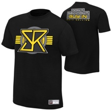 """Seth Rollins """"Buy In"""" Youth Authentic T-Shirt"""