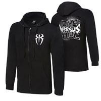 """Roman Reigns """"One Versus All"""" Youth Full-Zip Hoodie Sweatshirt"""