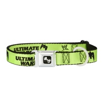"Ultimate Warrior ""Parts Unknown"" Dog Collar"