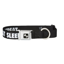 "Brock Lesnar ""Eat, Sleep, Poop, Repeat"" Dog Collar"
