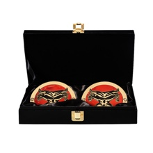 Brock Lesnar WWE World Heavyweight Championship Replica Title Side Plate Box Set