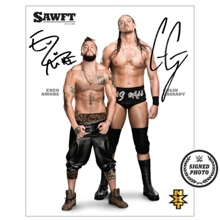 Enzo & Cassady Signed NXT Photo