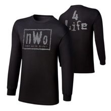 "nWo ""4 Life"" Youth Long Sleeve T-Shirt"