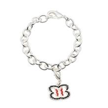 The Bellas Butterfly Silver Charm Bracelet