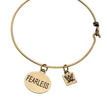 Fearless Nikki Bronze Wire Bracelet