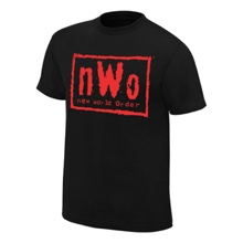 nWo Wolfpac Black & Red Youth T-Shirt