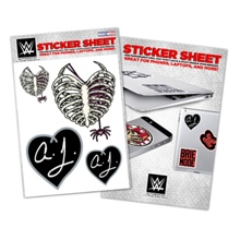 AJ Lee Vinyl Sticker Sheet