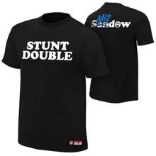 """Damien Mizdow """"Stunt Double"""" Youth Authentic T-Shirt"""