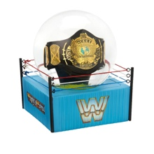 WWE Winged Eagle Championship Water Globe