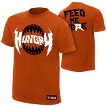 """Ryback """"Hungry"""" Orange Authentic T-Shirt"""