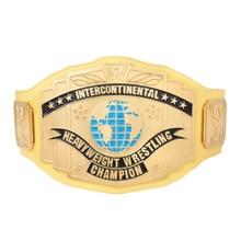 WWE Yellow Intercontinental Championship Replica Title Belt