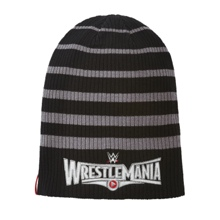WrestleMania 31 Striped Slouchy Knit Hat