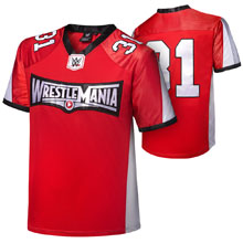 WrestleMania 31 Youth Football Jersey (blank name space)