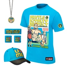 "John Cena ""Throwback"" Youth Authentic T-Shirt Package"