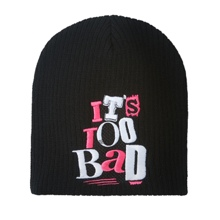"Dolph Ziggler ""It's Too Bad"" Knit Hat"