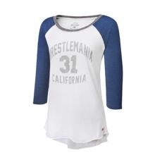 WrestleMania 31 Women's Raglan Sleeve Shirt