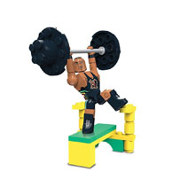 Big E Stackdown Playset