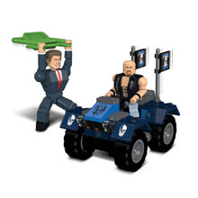 Stone Cold Steve Austin vs. Mr. McMahon Stackdown Playset