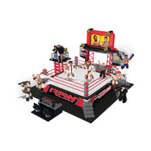 WWE RAW Stackdown Playset