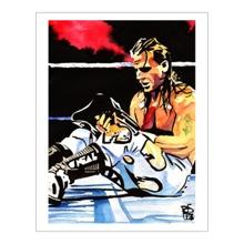Shawn Michaels 11 x 14 Art Print