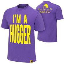 "Bayley ""I'm A Hugger"" Authentic T-Shirt"