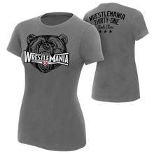 """WrestleMania 31 """"Grizzly"""" Women's T-Shirt"""