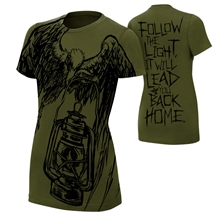 "Bray Wyatt ""Follow The Light"" Women's Authentic T-Shirt"