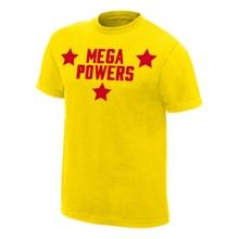 Mega Powers Yellow Authentic T-Shirt