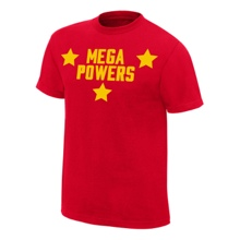 Mega Powers Red Youth Authentic T-Shirt