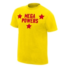 Mega Powers Yellow Youth Authentic T-Shirt