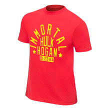 "Hulk Hogan ""Immortal"" Red Authentic T-Shirt"
