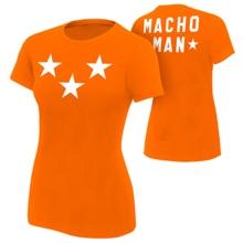 """Macho Man """"Stars"""" Women's Authentic T-Shirt"""