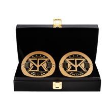 Seth Rollins WWE World Heavyweight Championship Replica Title Side Plate Box Set