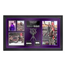 The Undertaker Commemorative WrestleMania 31 Framed Ring Rope Framed Collage