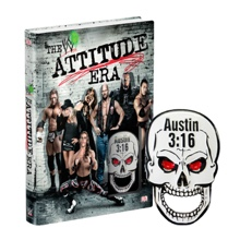 WWE: The Attitude Era Hardcover Book