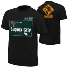 """Brock Lesnar """"Suplex City"""" Youth Authentic T-Shirt"""