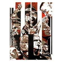 WrestleMania 31 11 x 14 Art Print