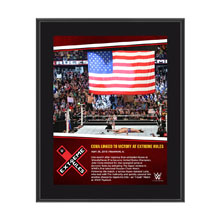 John Cena Extreme Rules 10 x 13 Photo Collage Plaque