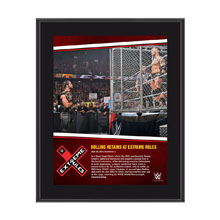 Seth Rollins Extreme Rules 10 x 13 Photo Collage Plaque