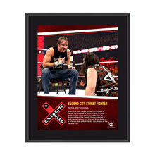 Dean Ambrose Extreme Rules 10 x 13 Photo Collage Plaque