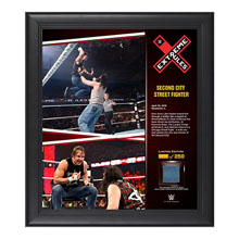 Dean Ambrose Extreme Rules 15  x 17 Framed Ring Canvas Photo Collage