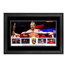 Bad News Barrett 2015 King of the Ring Commemorative Framed Photo Collage