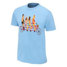 WWE Legends Tandem Bike T-Shirt