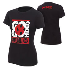 "Hideo Itami ""Go Go Hideo"" Women's Authentic T-Shirt"