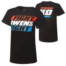 "Kevin Owens ""Fight Owens Fight"" Limited Edition Women's T-Shirt"