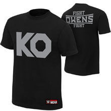 "Kevin Owens ""KO Fight"" Authentic T-Shirt"